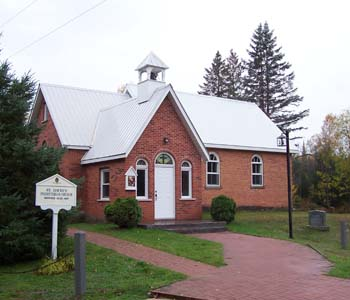 Photo of the cemetery church