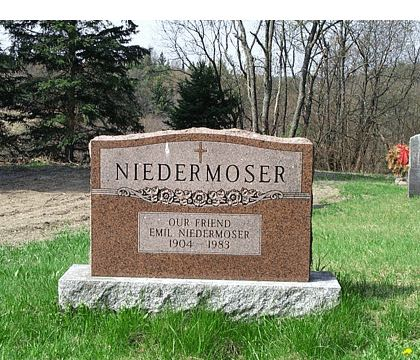 NIEDERMOSER OUR FRIEND EMIL NIEDERMOSER 1904 - 1983