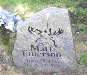MATT EMERSON APRIL 28, 1936 MARCH 22, 2008