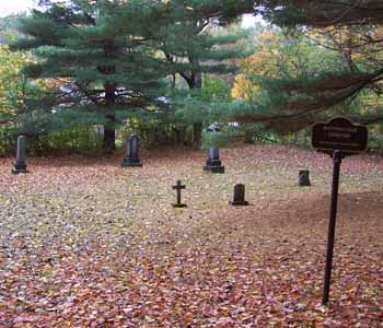 Photo of the cemetery